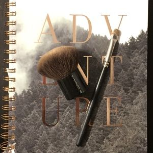 MAC makeup brushes - kabuki & eyeshadow